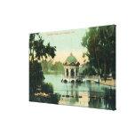 Escena del parque de Eastlake Impresión En Lona