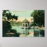 Escena del parque de Eastlake Posters