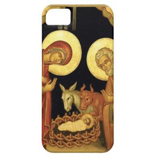 Escena del pesebre iPhone 5 Case-Mate carcasas