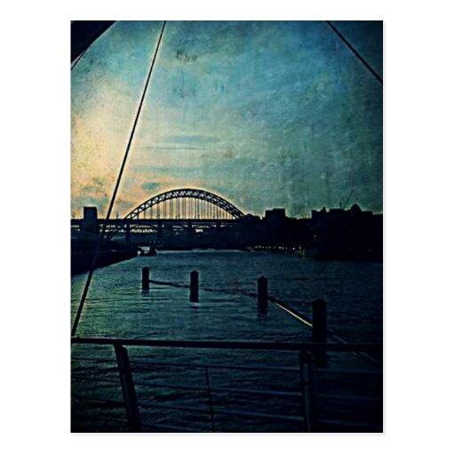 Escena del puente, Tyneside Postal