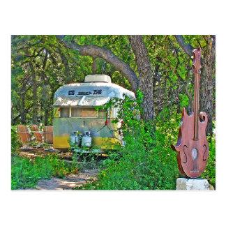 Escena del remolque en Sol'Stice, Dripping Springs Tarjetas Postales