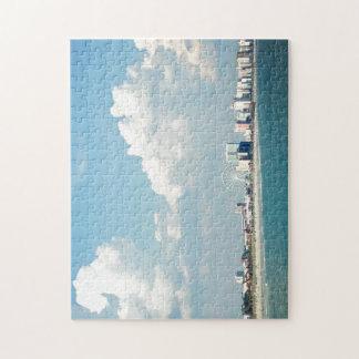 Escena del turista de Myrtle Beach Rompecabeza Con Fotos