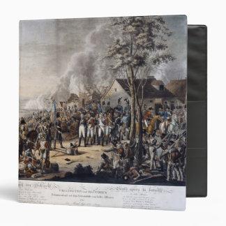 Escena después de la batalla de Waterloo