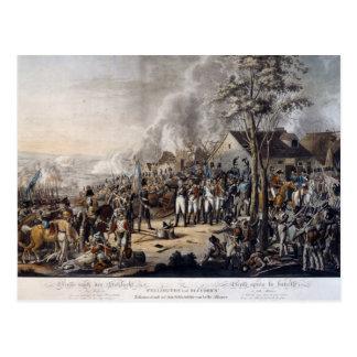 Escena después de la batalla de Waterloo Tarjeta Postal