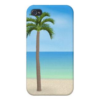 Escena diurna de la playa: caso del iPhone 4 iPhone 4 Protector