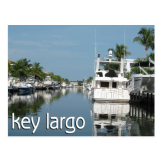 Escena dominante del Largo con los barcos Postal