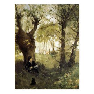 Escena en Auvers de Berthe Morisot Postales