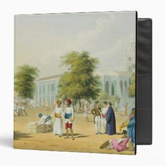 "Escena en Bombay, del volumen I de 'paisaje, traje Carpeta 1 1/2"""