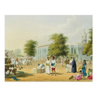 Escena en Bombay del volumen I de paisaje traje Tarjeta Postal