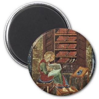 Escena Esdra de Amiatinus del códice que trabaja e Imanes