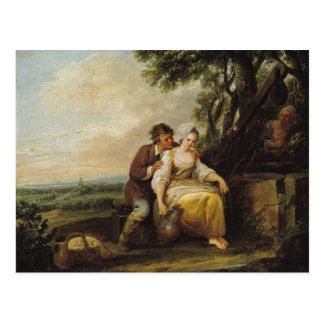 Escena Galante, 1774 Tarjeta Postal