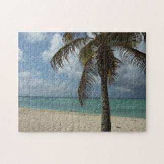 Escena hermosa de la naturaleza de la playa I de Rompecabezas