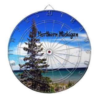 Escena hermosa de Michigan septentrional Tablero Dardos