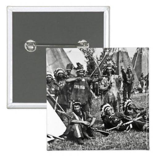 Escena Iroquois del campo en Quebec Pins