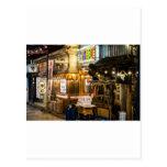Escena japonesa de la ciudad postal