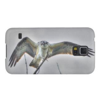 Escena juvenil de la foto de la fauna de Osprey Funda Para Galaxy S5
