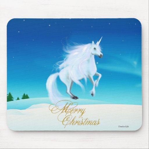 Escena Mousepad de las Felices Navidad