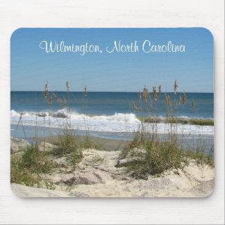 Escena Mousepad de Wilmington, océano de Carolina  Alfombrillas De Raton