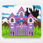 Escena Mousepad del castillo de los caballeros de  Alfombrillas De Ratón