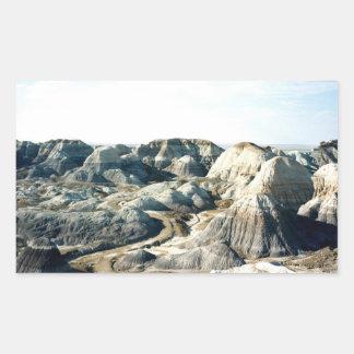 Escena pintada 05 del desierto rectangular altavoz