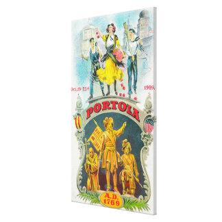 Escena promocional del festival de Portola Impresión En Lona
