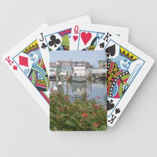 escena rosada de la Florida del puerto deportivo Barajas De Cartas