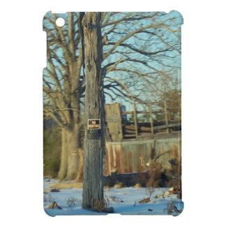 Escena rural de la nieve del NC iPad Mini Fundas