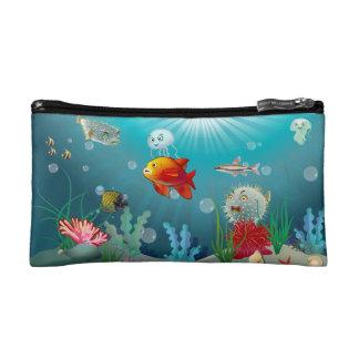 Escena subacuática