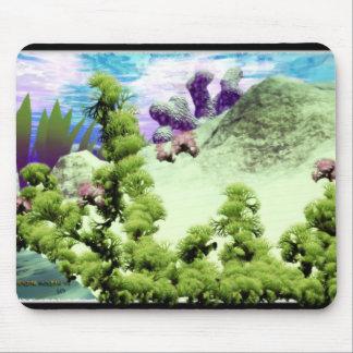 Escena subacuática # 1 Mousepad Tapete De Raton