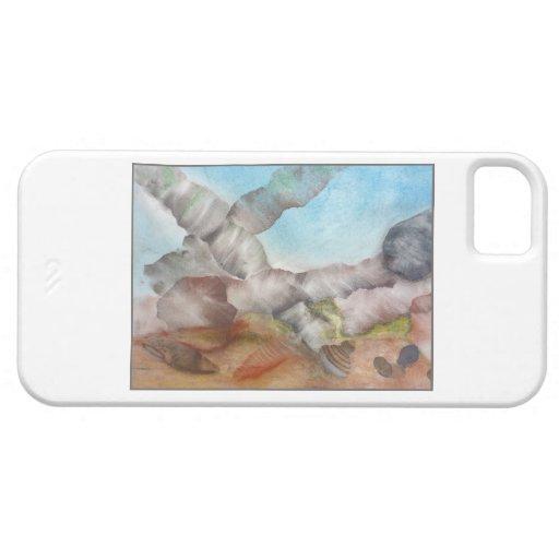 Escena subacuática con las cáscaras iPhone 5 Case-Mate carcasas
