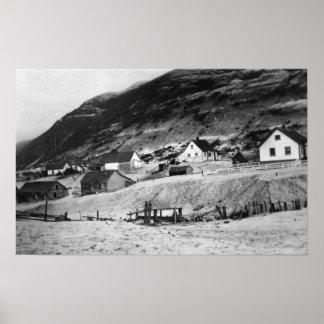 Escena temprana del Kodiak, fotografía de Alaska Impresiones