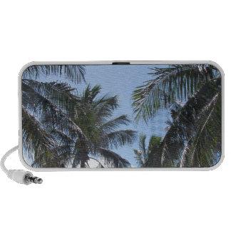 Escena tropical de la playa mp3 altavoces
