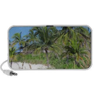 Escena tropical de la playa PC altavoces