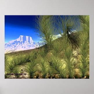 Escena V.4 del desierto Impresiones