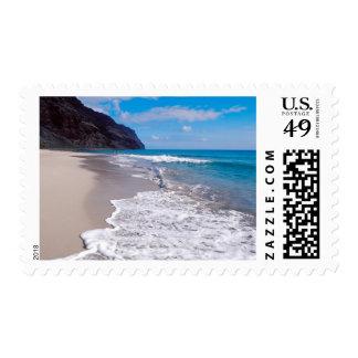 Escenario Playa de bodas Stamp
