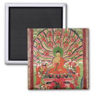 Escenas a partir de la vida de Buda Iman Para Frigorífico