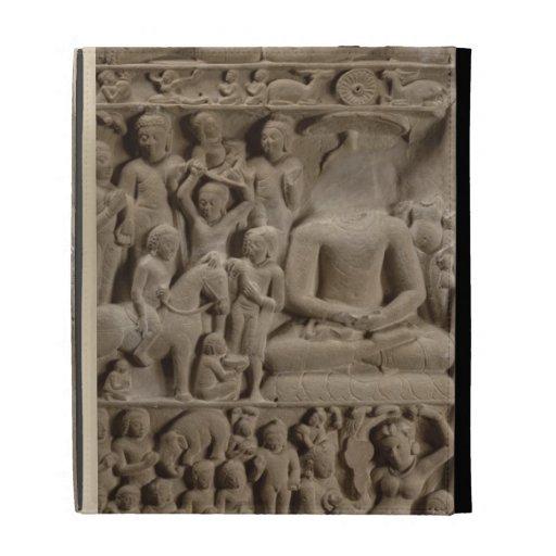 Escenas a partir de la vida de Buda, Sarnath, Utta