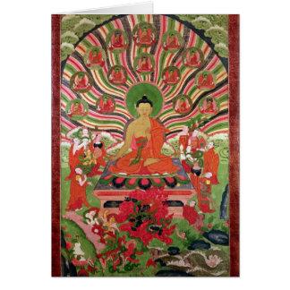 Escenas a partir de la vida de Buda Felicitacion