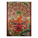 Escenas a partir de la vida de Buda Tarjeta De Felicitación