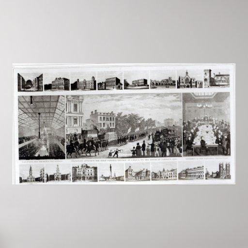 Escenas asociadas a la presentación póster
