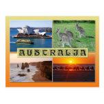 Escenas de Australia Postales