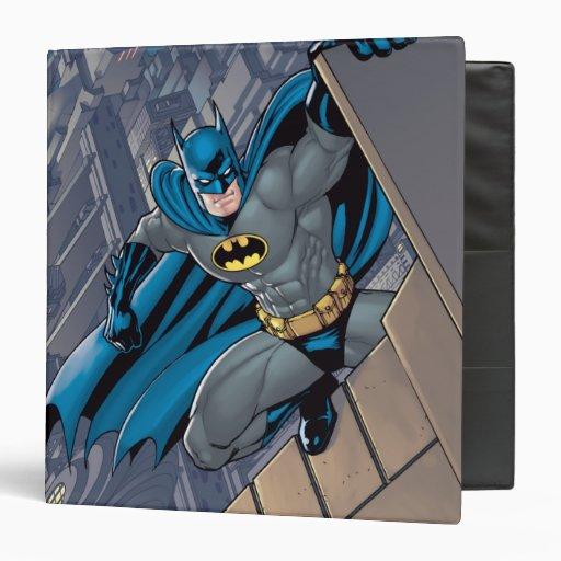 "Escenas de Batman - colgando de la repisa Carpeta 1 1/2"""