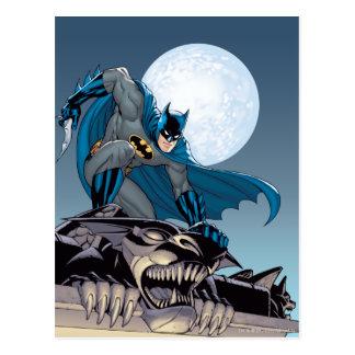 Escenas de Batman - Gargoyle Tarjetas Postales