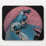 Escenas de Batman - pared de ladrillo Tapetes De Ratón