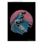 Escenas de Batman - pared de ladrillo Tarjetas