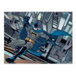 Escenas de Batman - pared del escalamiento Postal