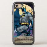 Escenas de Batman - vista lateral de la luna Funda OtterBox Symmetry Para iPhone 7
