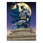 Escenas de Batman - vista lateral de la luna Postal