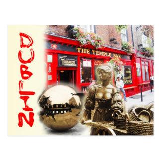 Escenas de Dublín, Irlanda Postales