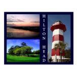 Escenas de Hilton Head Tarjetas Postales
